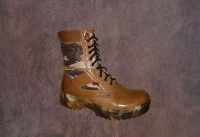 Schuhe für militärische 206
